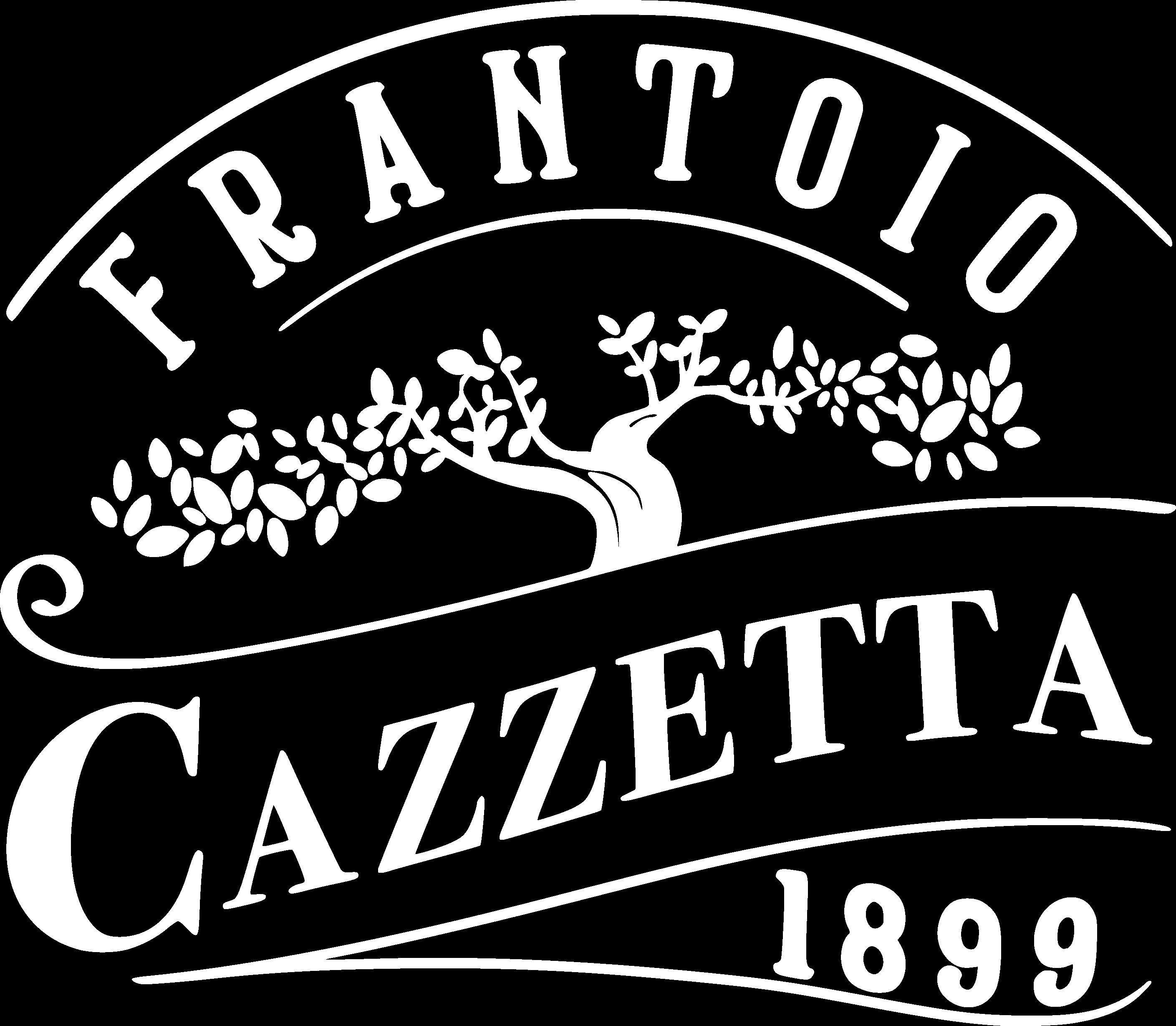 frantoio cazzetta logo 1899 white